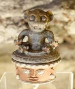Small tripod urn
